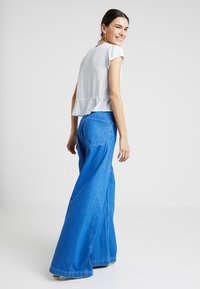 Rolla's - LULA BLOUSE MINI SPOT - Bluzka - french blue - 2