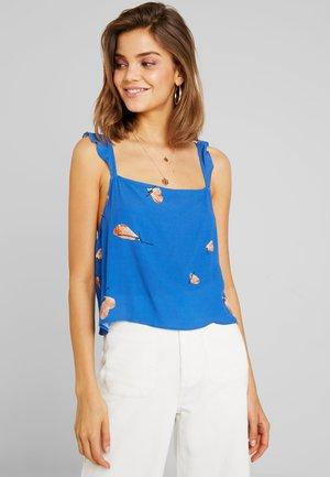 RUFFLE TANK MONARCH - Blouse - french blue