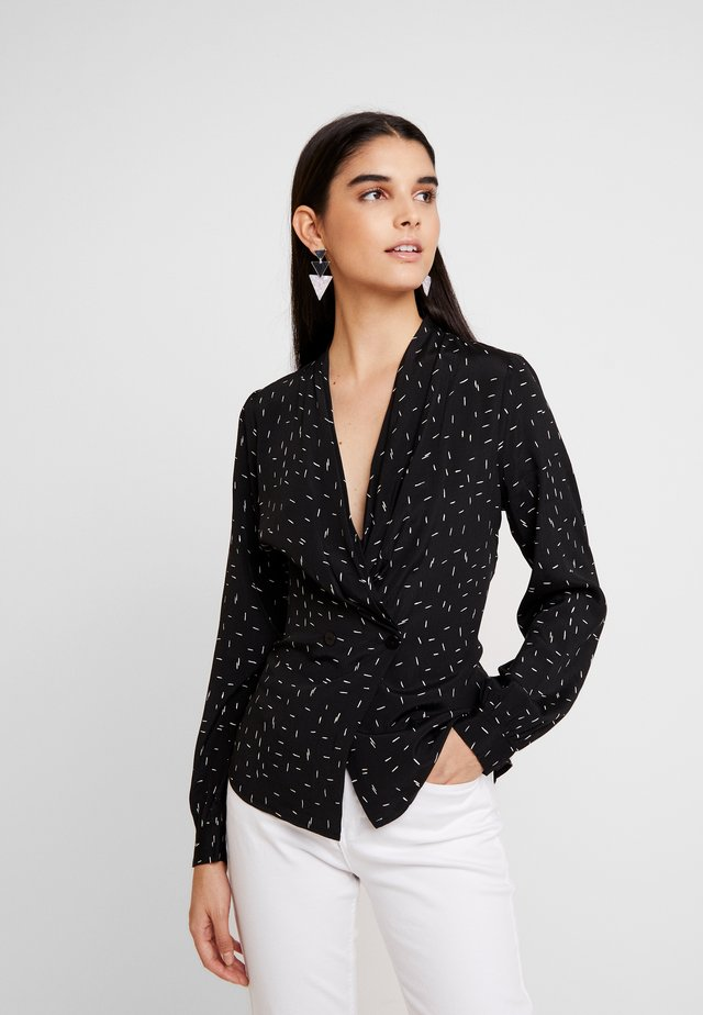 HEIDI DASH BLOUSE - Blouse - black