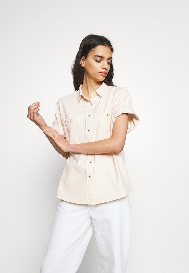 DARIA SHIRT - Button-down blouse - soft pink