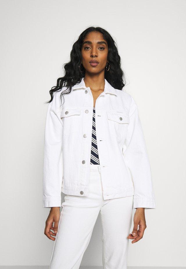SLOUCH JACKET - Kurtka jeansowa - vintage white