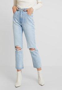Rolla's - ORIGINAL - Džíny Straight Fit - horizon worn - 0