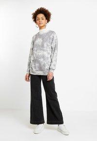 Rolla's - OLD MATE - Flared jeans - black denim - 1