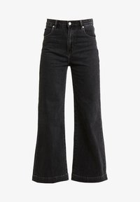 Rolla's - OLD MATE - Flared jeans - black denim - 4