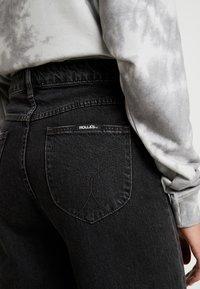 Rolla's - OLD MATE - Flared jeans - black denim - 5