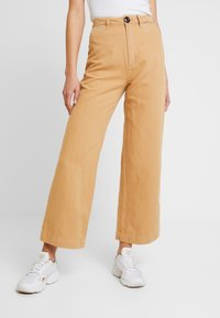 Rolla's - OLD MATE PANT - Straight leg jeans - gold - 0