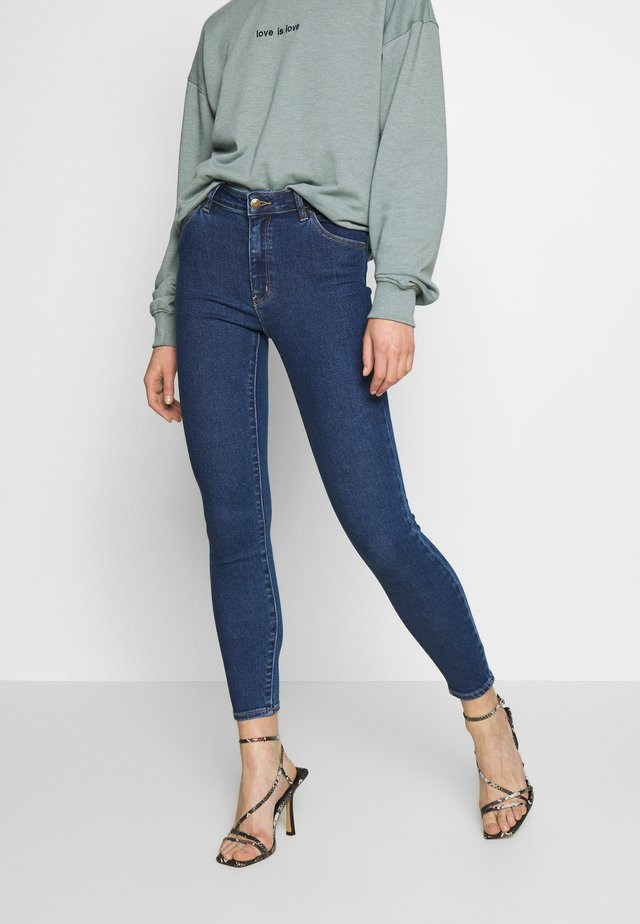 WESTCOAST ANKLE - Jeansy Skinny Fit - bayside blue