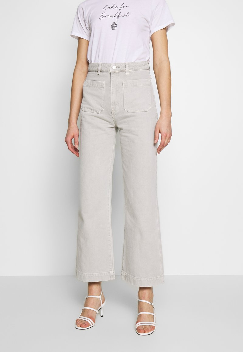 Rolla's - SAILOR - Flared Jeans - stone