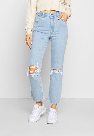 ORIGINAL - Straight leg jeans - light-blue denim
