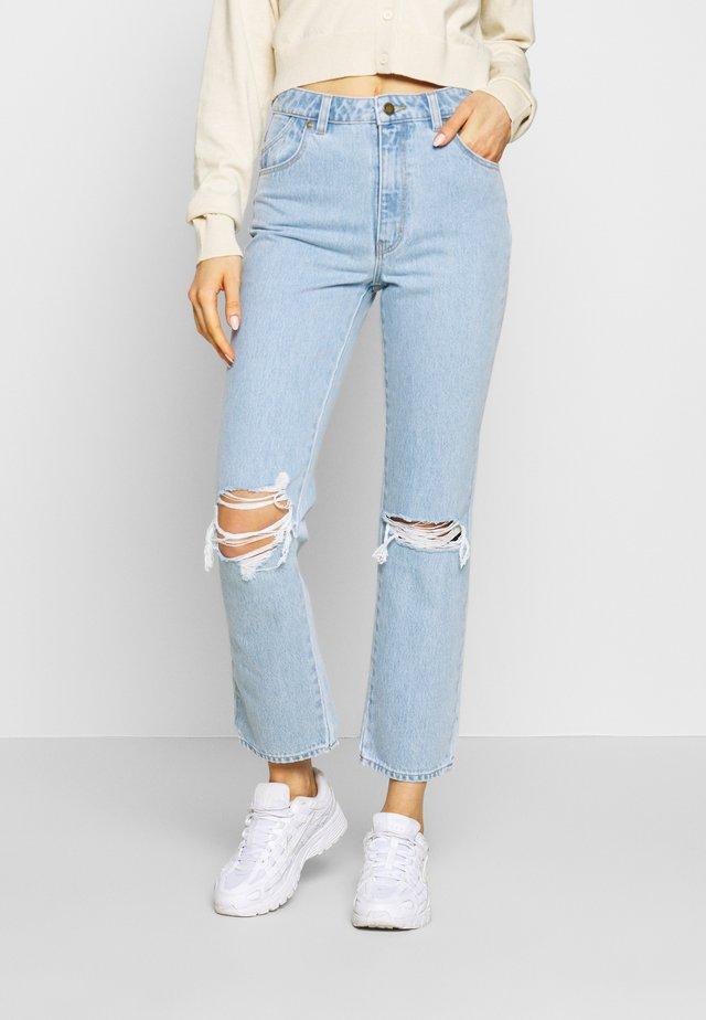 ORIGINAL - Jeans straight leg - light-blue denim