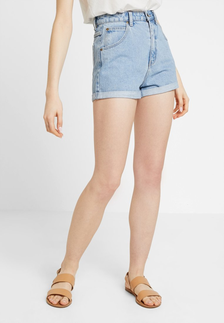 Rolla's - DUSTERS - Jeans Shorts - sunday blue