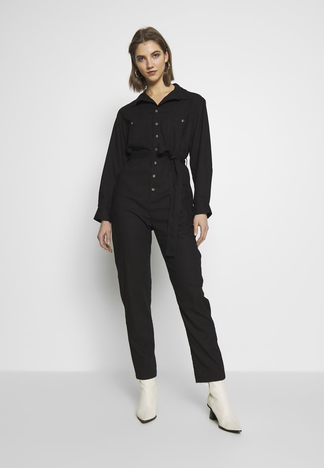 HORIZON BOILER SUIT - Haalari - black
