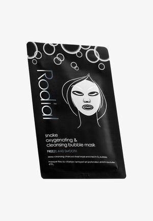 SNAKE OXYGENATING & CLEANSING BUBBLE MASK - Face mask - -