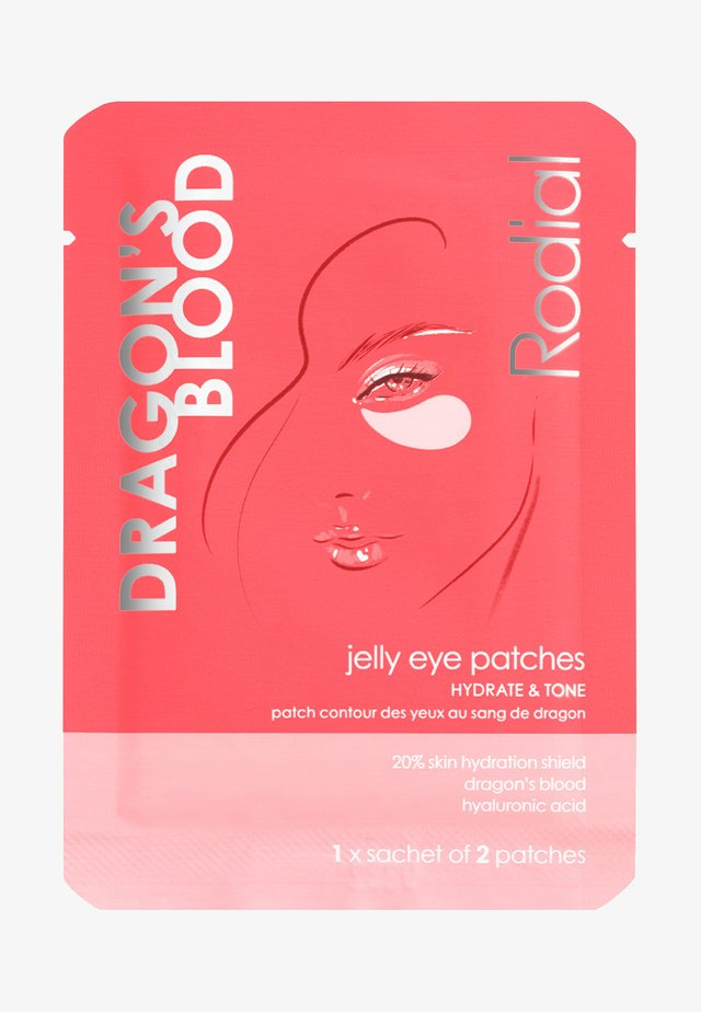 DRAGONS BLOOD JELLY EYE PATCHES SINGLE - Eyecare - -
