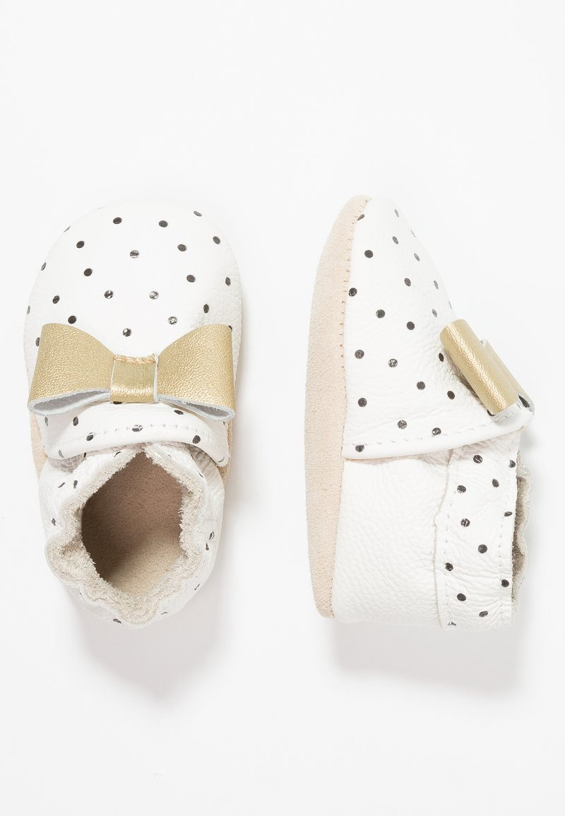 Rose et Chocolat - POLKA DOT - Krabbelschuh - white