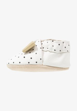 POLKA DOT - First shoes - white