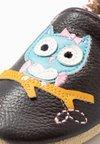 Rose et Chocolat - POLKA OWL - První boty - brown
