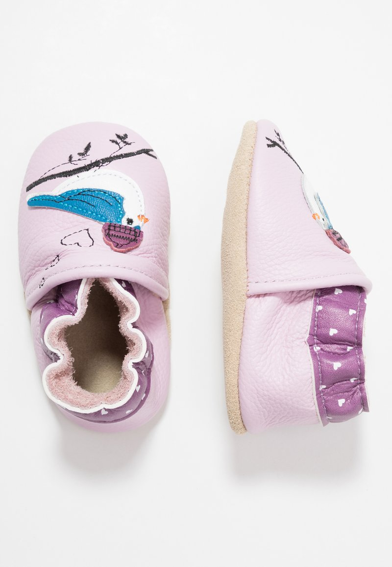 Rose et Chocolat - LOVE BIRD - First shoes - purple