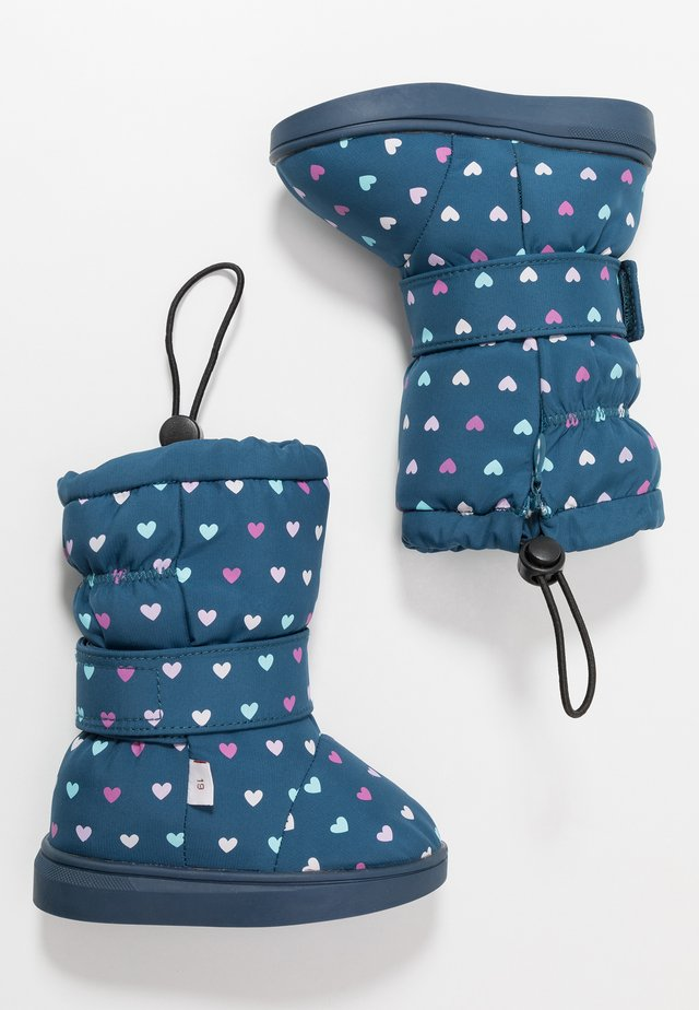 HEARTS - Winter boots - blue