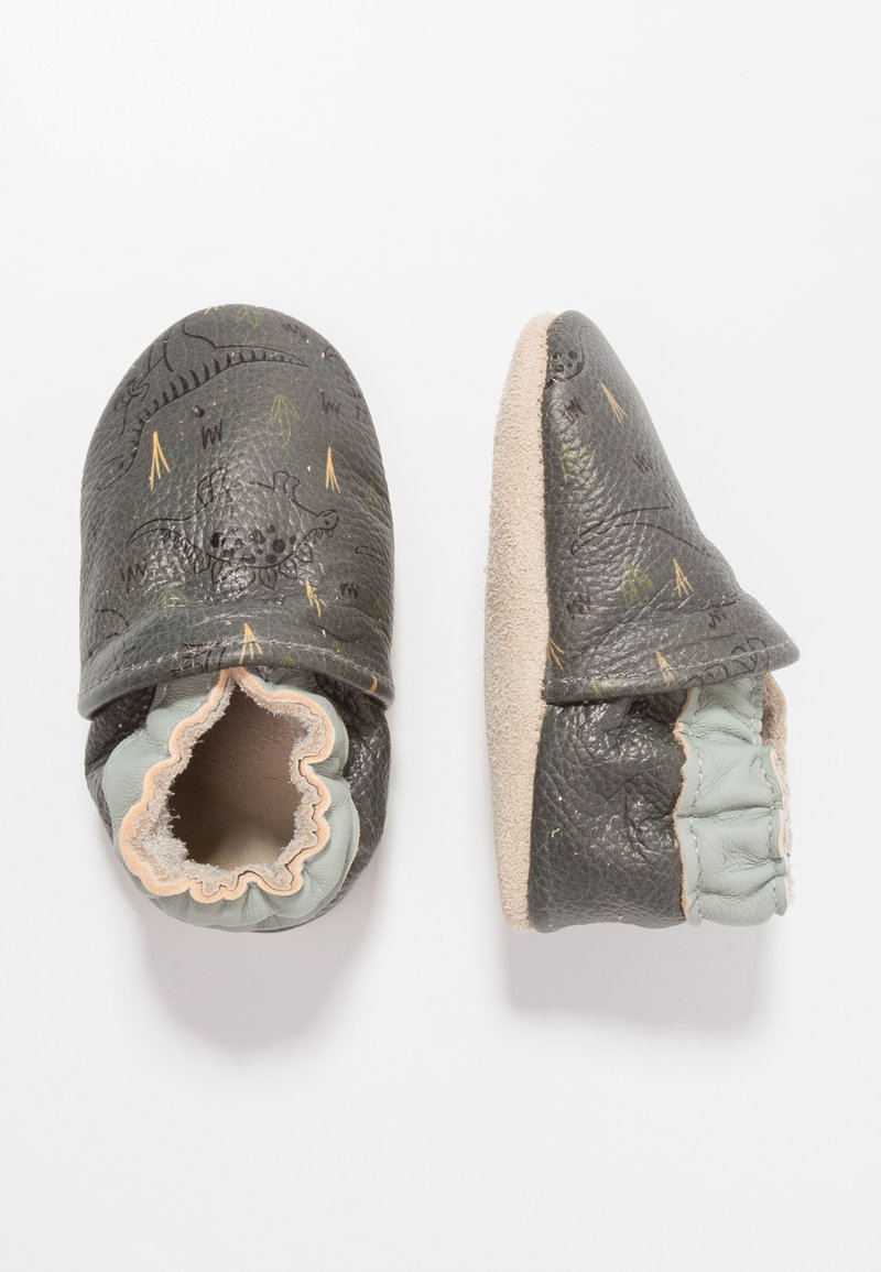 Rose et Chocolat - DINO - First shoes - grey
