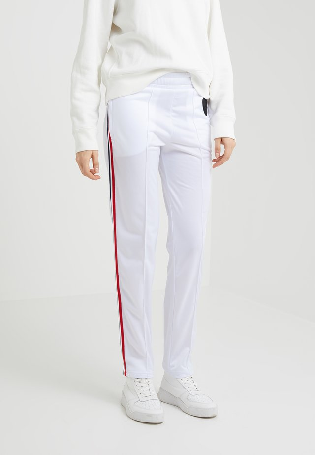 TRACKSUIT PANT - Trousers - white