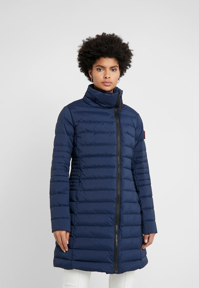 STRETCH LONG JACKET - Doudoune - dark navy