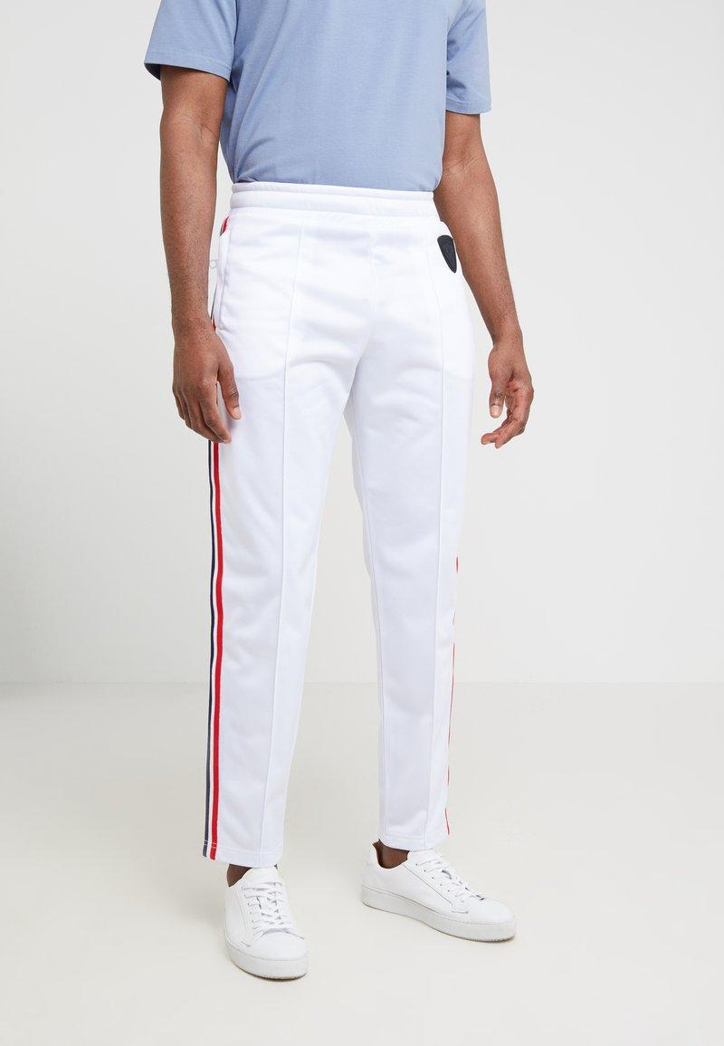 Rossignol Apparel - TRACK SUIT TROUSER - Spodnie treningowe - white