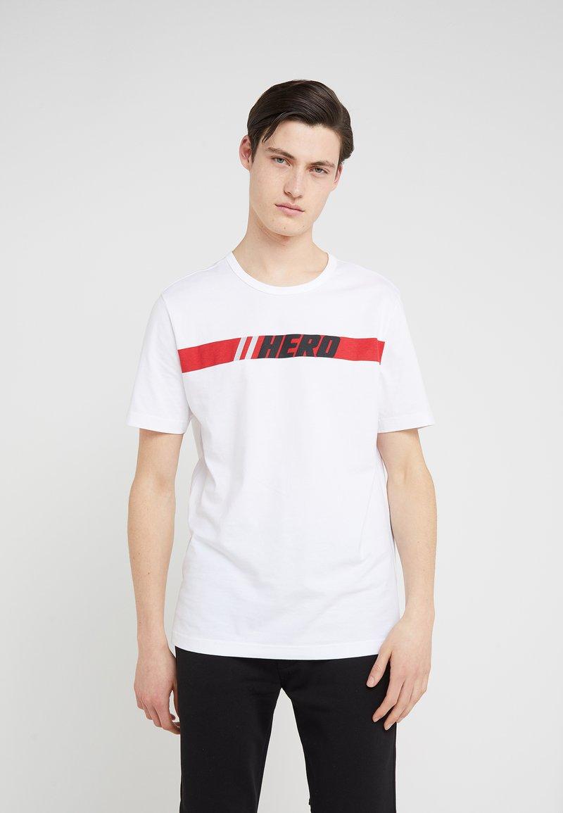Rossignol Apparel - HERO TEE - Print T-shirt - white