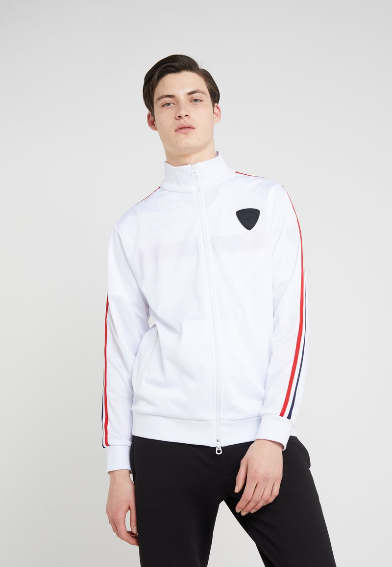 Rossignol Apparel - TRACK SUIT JACKET - Treningsjakke - white