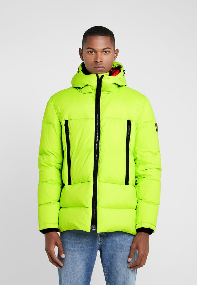 HOODED PUFFER - Doudoune - lime