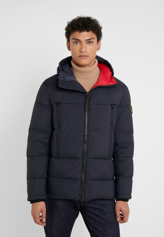 HOODED PUFFER - Doudoune - black