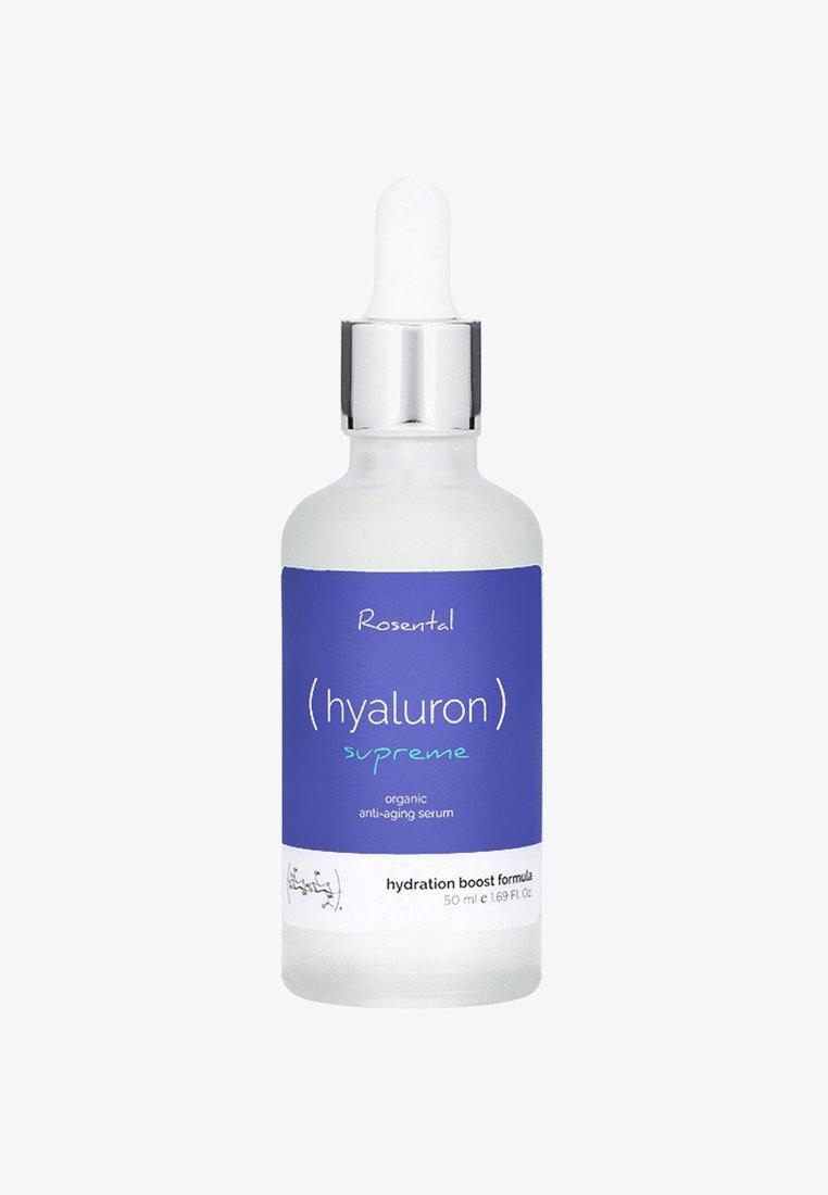 Rosental Organics - HYALURON SUPREME SERUM - Serum - -