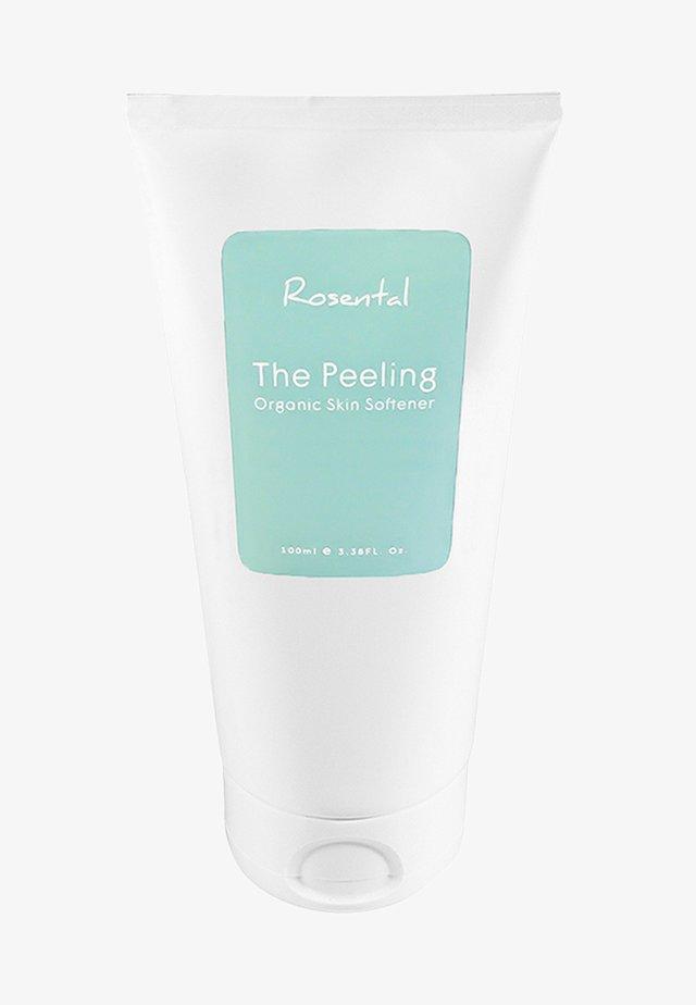 THE PEELING ORGANIC SKIN SOFTENER - Face scrub - -