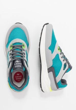ULTIMATE - Baskets basses - turquoise/grey