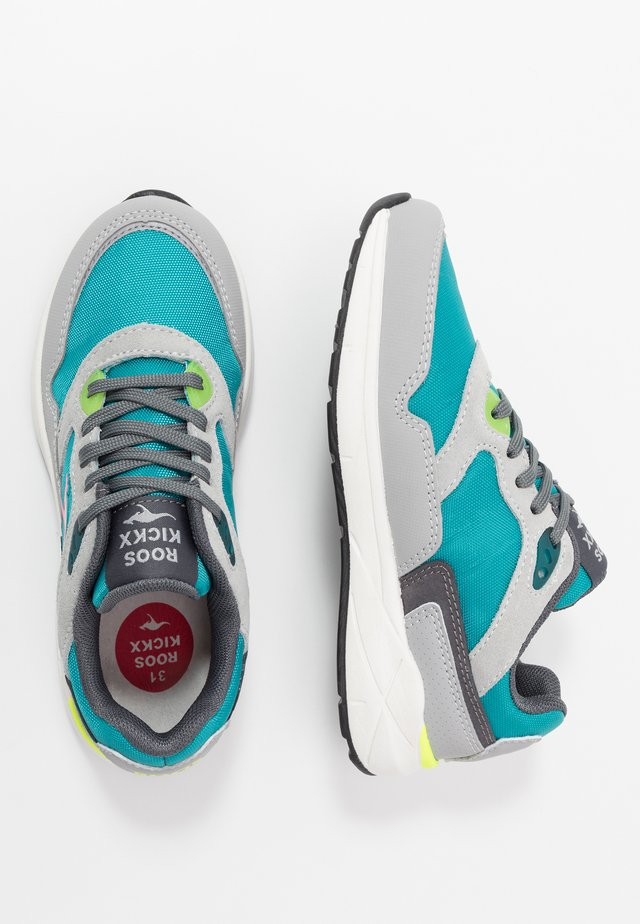 ULTIMATE - Trainers - turquoise/grey
