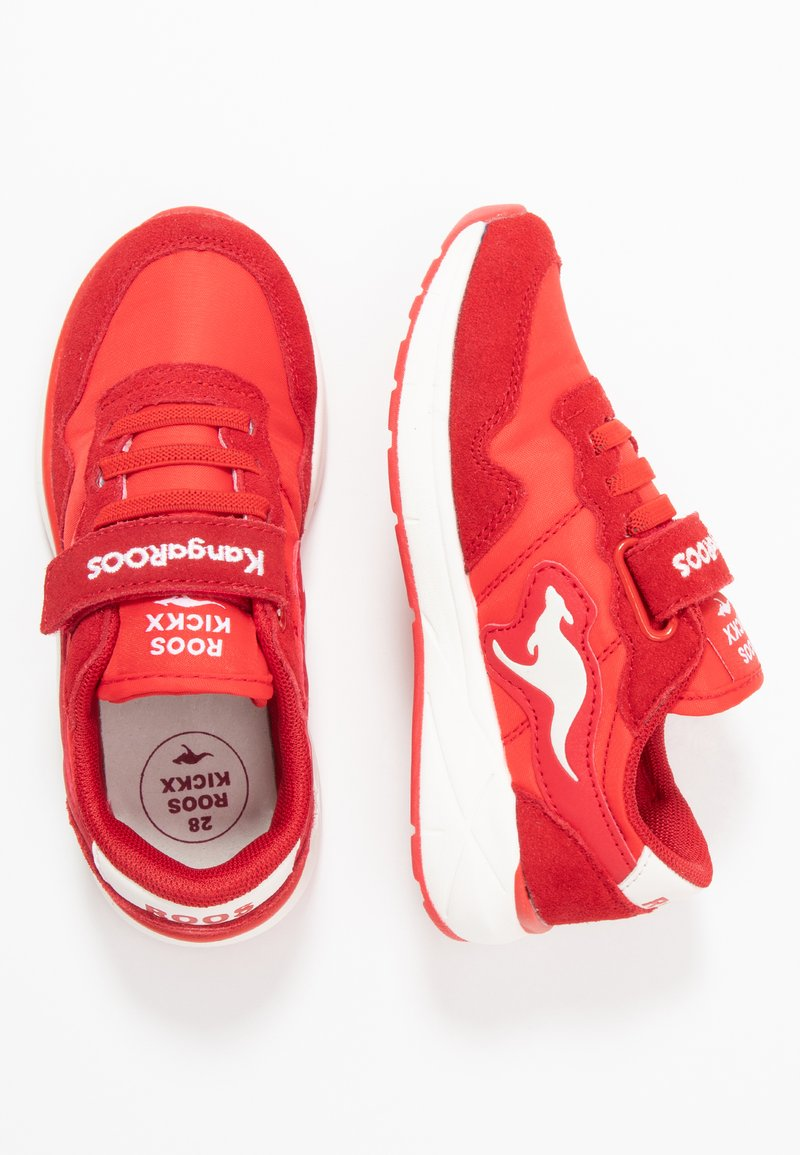 Rooskickx - INVADER - Sneakers - red earth/white