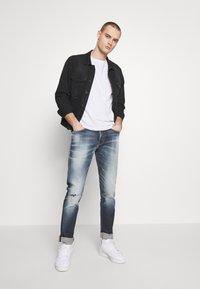 Royal Denim Division by Jack & Jones - JJIGLENN SELVEDGE - Slim fit jeans - blue denim - 1