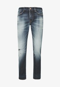 Royal Denim Division by Jack & Jones - JJIGLENN SELVEDGE - Slim fit jeans - blue denim - 4