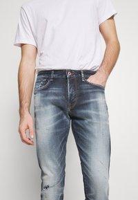 Royal Denim Division by Jack & Jones - JJIGLENN SELVEDGE - Slim fit jeans - blue denim - 3