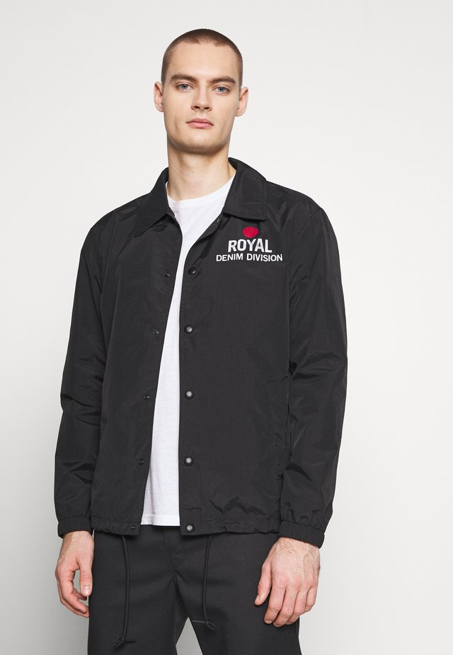 COACH JACKET - Tunn jacka - black