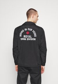 Royal Denim Division by Jack & Jones - COACH JACKET - Korte jassen - black - 2