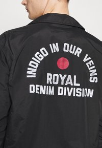 Royal Denim Division by Jack & Jones - COACH JACKET - Korte jassen - black - 5