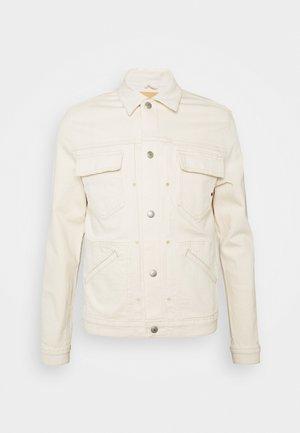 ROYAL JACKET SELVEDGE - Denim jacket - ecru
