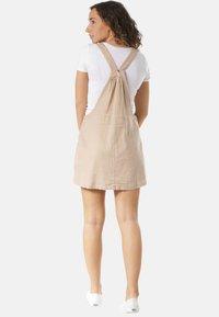 Rusty - Korte jurk - beige - 2