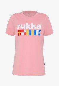 Rukka - RUKKA VATKIVI - T-Shirt print - light pink - 3