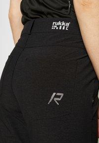 Rukka - RUKKA RAVILE - Trousers - black - 3