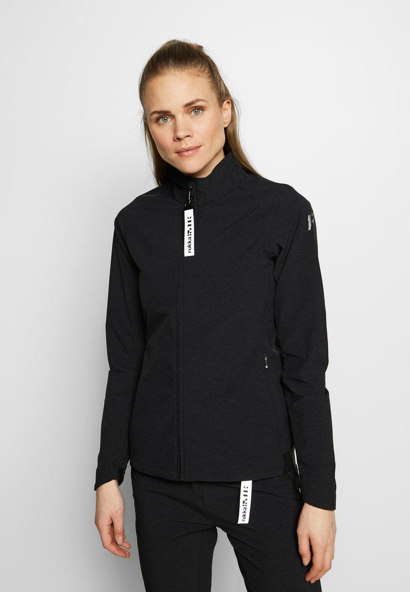 Rukka - RAUVOLA - Training jacket - black
