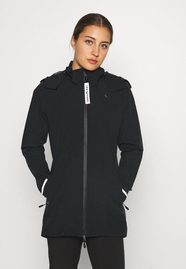 RAUHALA - Waterproof jacket - black