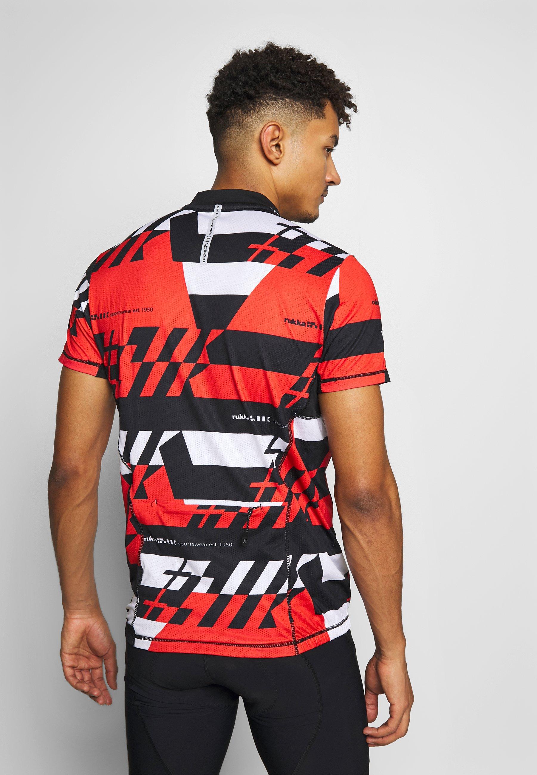 Rukka RAKSILA - T-shirt z nadrukiem - classic red