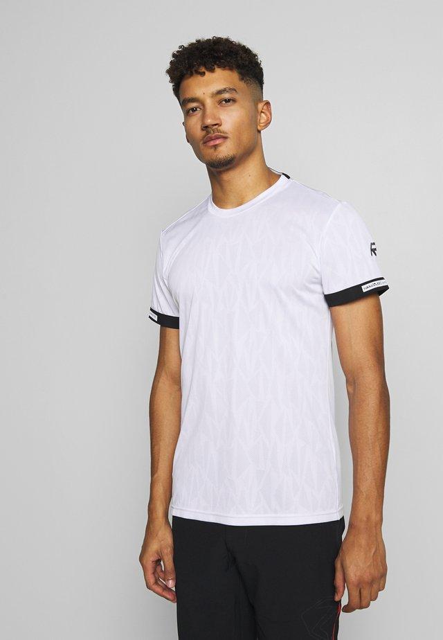 RUKKA RUISSALO - Print T-shirt - white